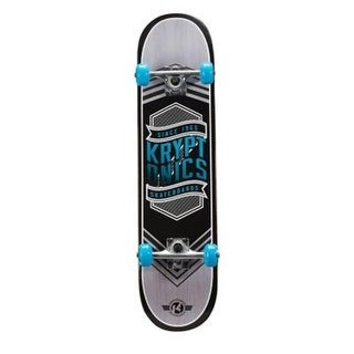 Bravo Sports 163684 31 in. Flag Blue Drop-In Complete Skateboard