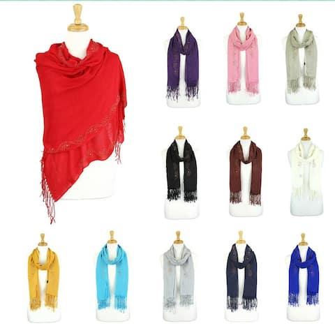 Rhinestone Shawls and Wraps for Evening Dresses Wedding Shawl Wrap Shiny Scarf