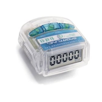 Sportline 348 Distance and Safety Light Pedometer
