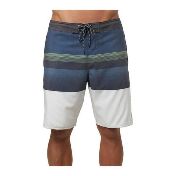 a1643588b0 Shop O'Neill Men's Stripe Club Cruzer Boardshort Dark Blue - Free ...