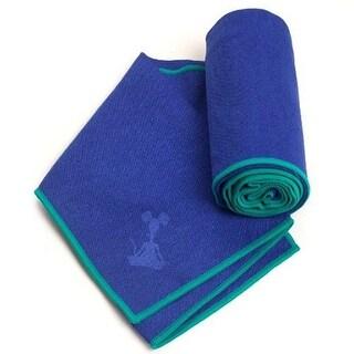 YogaRat Yoga Towel - Indigo/Turquoise