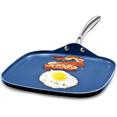 Granitestone Blue Non Stick 10.5 Griddle Pan