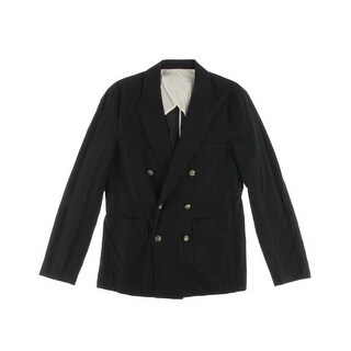 Zara Mens Cotton Peak Collar Suit Jacket