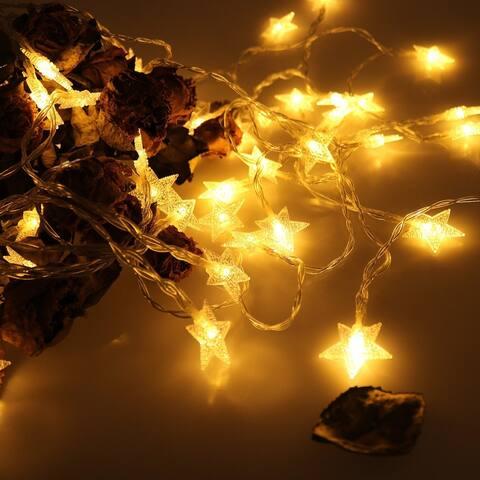 Battery Operated Indoor Decoration Fairy Lights 17Ft 50pcs - Medium