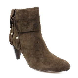 Corso Como Womens Amber Brown Suede Ankle Boots Size 9
