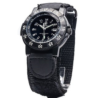 Smith & Wesson 357 Series Tactical Watch Nylon 43mm 20ATM SWISS TRITIUM - Black