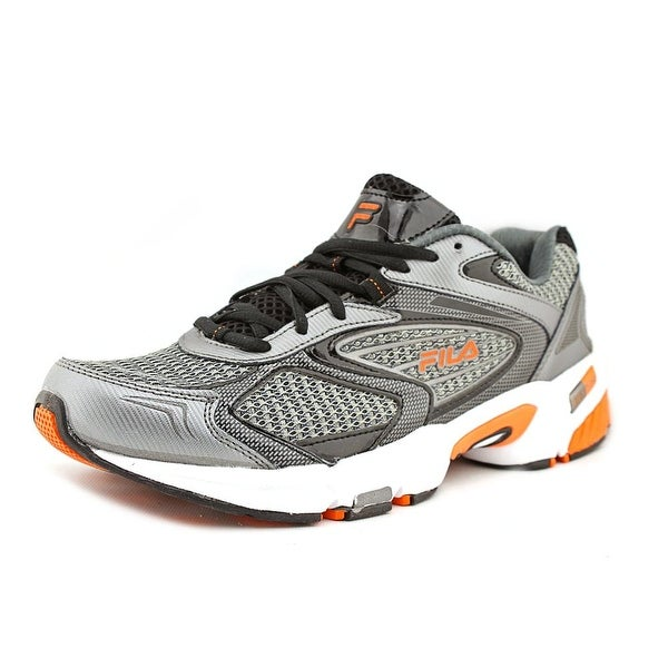 c9976f425ffa Shop Fila Swerve 2 Men Round Toe Synthetic Silver Running Shoe ...