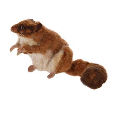 "Pack of 4 Life-Like Handcrafted Extra Soft Plush Leadbeater Possum Stuffed Animal 11"""