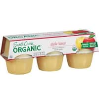 Santa Cruz Organic - Apple Sauce ( 18 - 4 OZ)