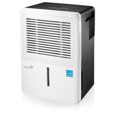Ivation 30 Pint Energy Star Dehumidifier - For Spaces Up To 2,000 Sq Ft