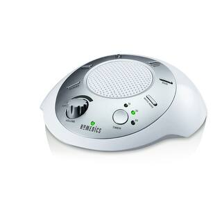 Homedics Ss 2000f Sound Spa Relaxation Machine with 6 Nature Sounds Silver|https://ak1.ostkcdn.com/images/products/is/images/direct/4d82c12259913e975122fb3b410ad55109dd881e/Homedics-Ss-2000f-Sound-Spa-Relaxation-Machine-with-6-Nature-Sounds-Silver.jpg?impolicy=medium
