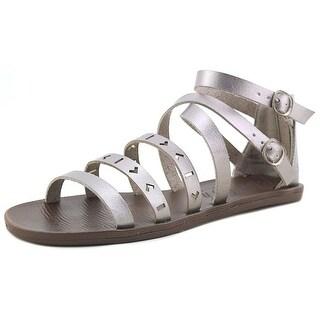 Blowfish Doda Youth  Open Toe Synthetic Silver Gladiator Sandal