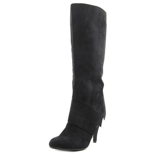 Fergalicious Prime Round Toe Synthetic Knee High Boot