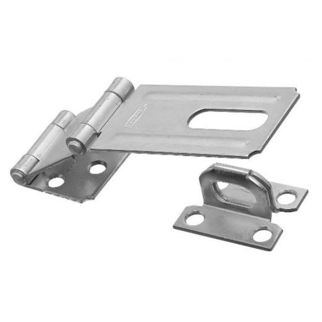 National Hardware N103-259 Double Hinge Safety Hasp, 3-1/4, Zinc