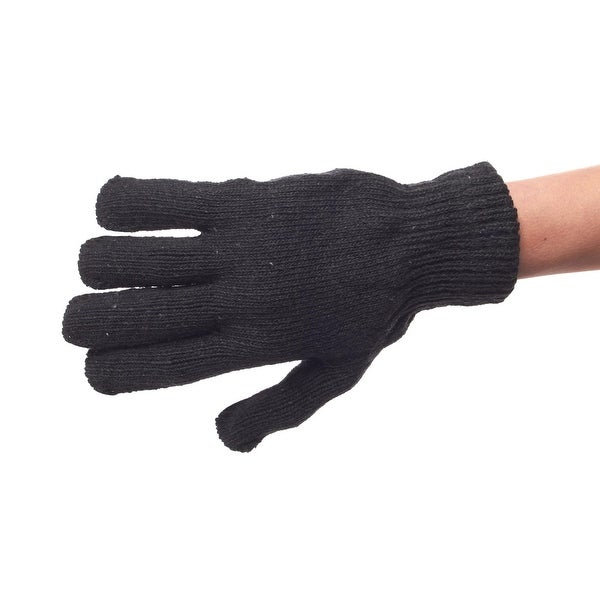 Day of Sledding Stretchy Knit Gloves
