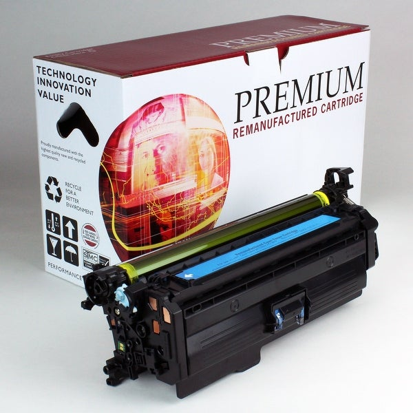 Re Premium Brand replacement for HP 646A Cyan Toner CF031A
