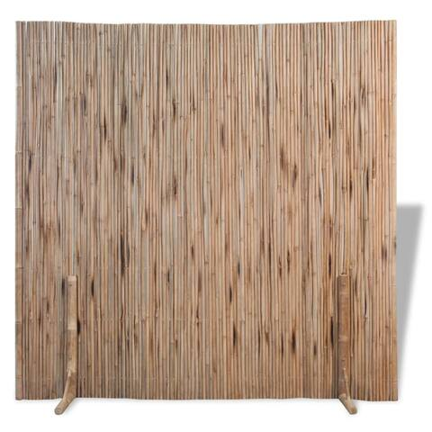 "vidaXL Room Divider Fence Panel Bamboo 70.9""x70.9"""