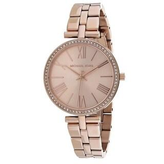 Michael Kors Women's Maci Rose Gold Dial Watch