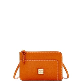 Dooney & Bourke Saffiano Flat Crossbody (Introduced by Dooney & Bourke at $148 in Feb 2017) - Natural