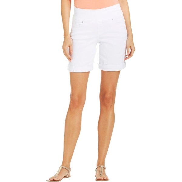 17bc9f75ec1 Shop Jag Jeans Womens Jordan Denim Shorts Classic Fit Bermuda - Free  Shipping On Orders Over $45 - Overstock - 15093281