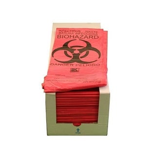 Guardian Survival Gear TWB CS Infectious Waste Bags - Case of 500