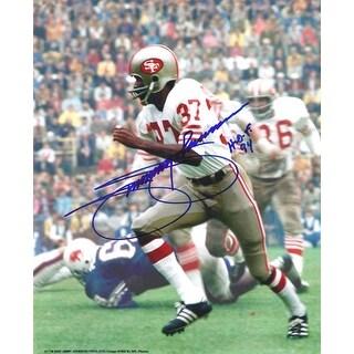 "Jimmy Johnson Autographed San Francisco 49ers 8x10 Photo w/""HOF 94"""