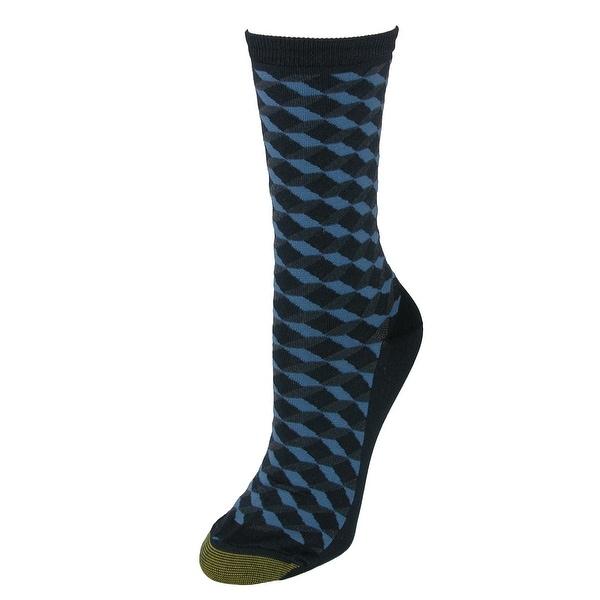 Gold Toe Women's Ultra Soft Geo Crew Socks (3 Pair Pack)