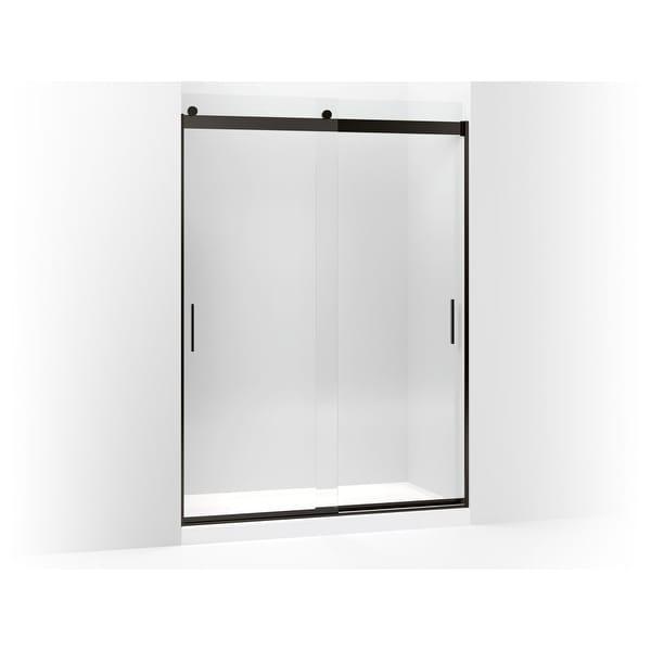 Shop Kohler K 706165 L Levity 82 X 59 58 Frameless Sliding Shower