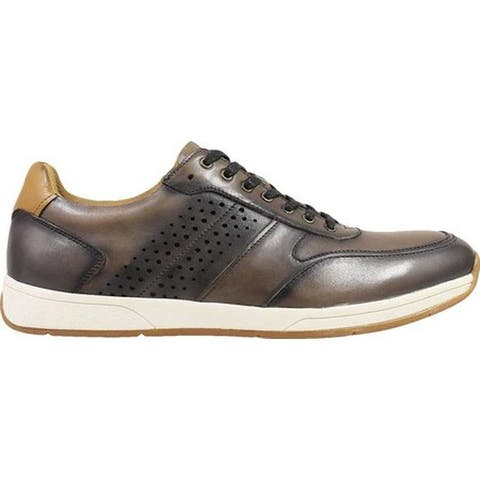 Florsheim Men's Fusion Sport Lace Up Sneaker Gray Smooth Leather