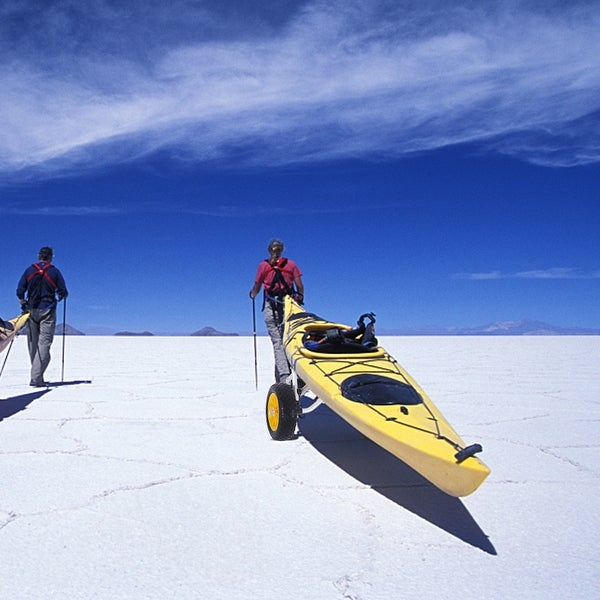 1.5MM Aluminum Alloy Canoeing Trailer Cart Silver