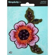 Flower - Wrights Iron-On Applique