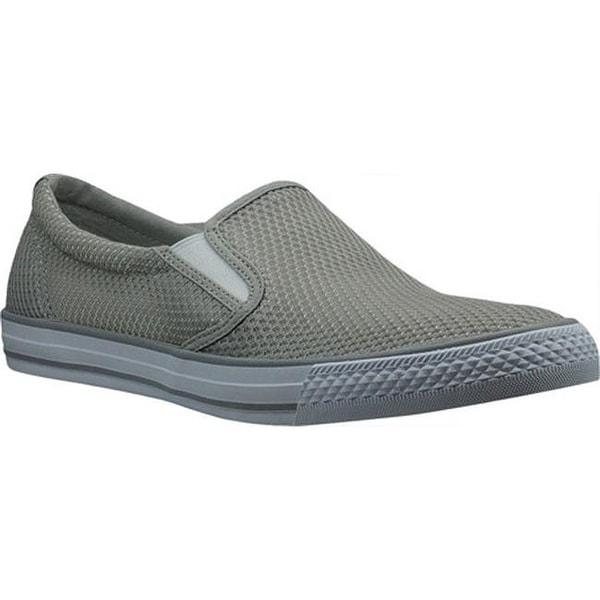 8096008fd56c7 Shop Burnetie Men's Skid II Slip On Grey Textile - On Sale - Free ...