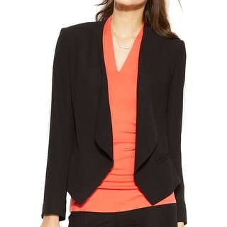 Vince Camuto Womens Blazer Long Sleeves Open Front