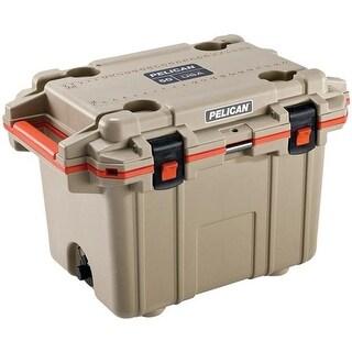 Pelican 50Q-2-TANORG 50-Quart Elite Deluxe Cooler, Beige