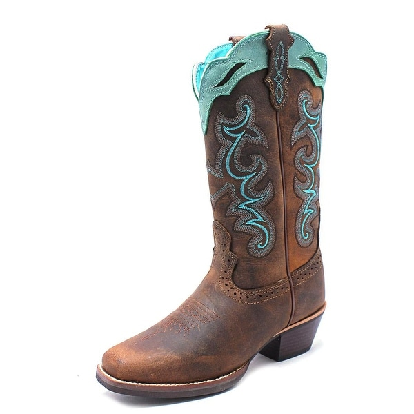 Justin Boots SVL7311 Women C Square Toe