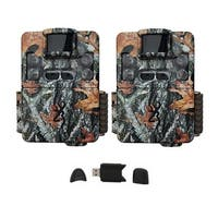 Browning Trail Cameras Strike Force Pro XD Game Cam (2-Pack) Bundle - Camouflage