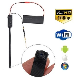 AGPtek Mini DV Full HD 1080P Spy Camera DIY Module IP Camera WiFi Remote Monitor Nanny Cam DVR