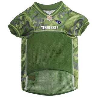 NFL Tennessee Titans Camouflage Pet Jersey For Dogs & Cats