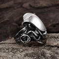 Vienna Jewelry Stainless Steel Abstract Reptile Ring - Thumbnail 1