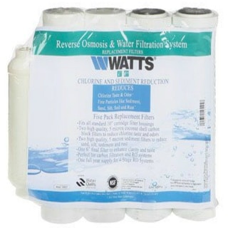 Watts Premier 560025 Sediment And Carbon Replacement Filter Kit With In-Line Filter