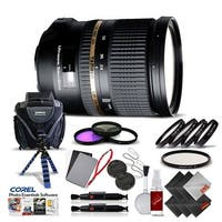 Tamron SP 24-70mm f/2.8 Di USD Lens for Sony International Version (No Warranty) Pro Kit - black