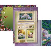 Unicorn Kingdom - Hunkydory Unicorn Utopia A4 Topper Set