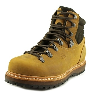 Hanwag Bergler  Men  Round Toe Leather Tan Hiking Boot