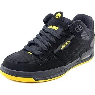 Osiris Peril Men Round Toe Synthetic Black Skate Shoe