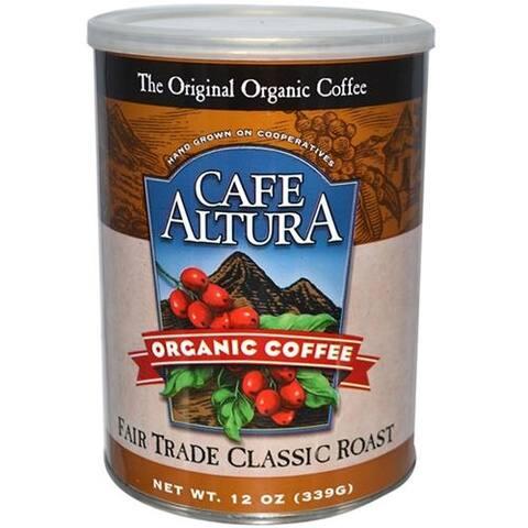Cafe Altura - Fair Trade Classic Roast Coffee ( 6 - 12 OZ)
