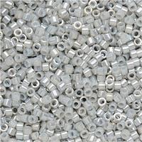 Miyuki Delica Seed Beads 11/0 - Ceylon Gray DB252 7.2 Grams