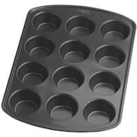 """12 Cavity 3""""X1.25"""" - Perfect Results Muffin Pan"""