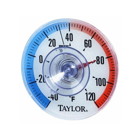 """Taylor 5321N Window Thermometer, 3-1/2"""""""