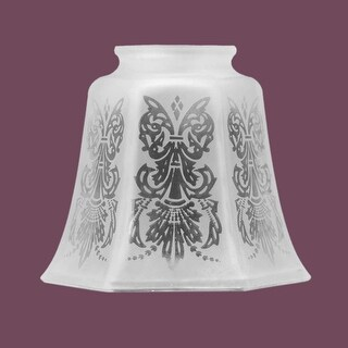 Lamp Shades Frosted Glass Tulip Shade 4 1/8H