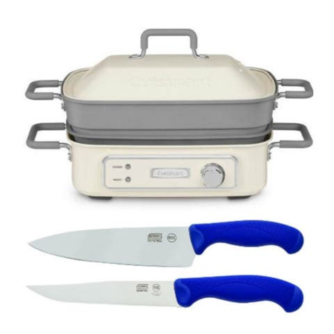 Cuisinart STACK5 Multi-Functional Grill with Knife Bundle
